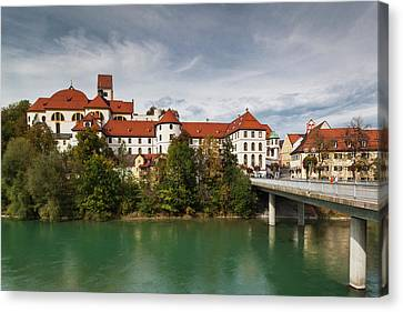 Germany, Bavaria, Fussen, St Canvas Print by Walter Bibikow