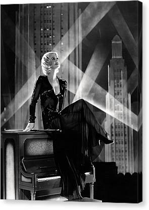 Ginger Rogers Canvas Print by Silver Screen
