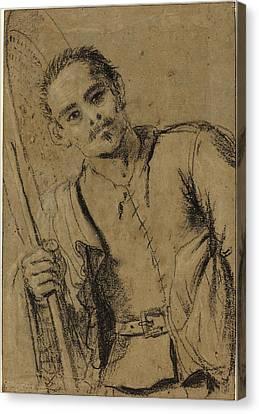 Giovanni Francesco Barbieri, Called Guercino Italian Canvas Print by Quint Lox