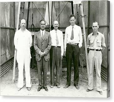 Guggenheim Canvas Print - Goddard Rocket Research by Nasa