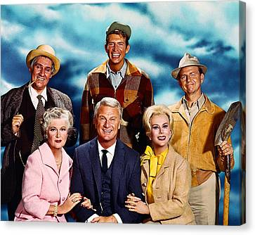Green Acres  Canvas Print by Silver Screen