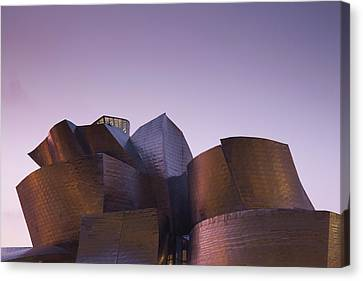 Guggenheim Museum Designed By Frank Canvas Print