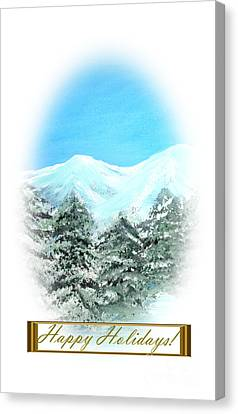 Happy Holidays. Best Christmas Gift Canvas Print