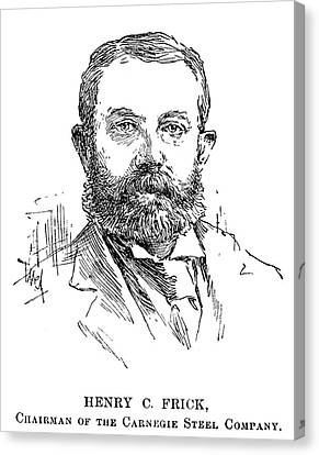 Henry Clay Frick (1849-1919) Canvas Print