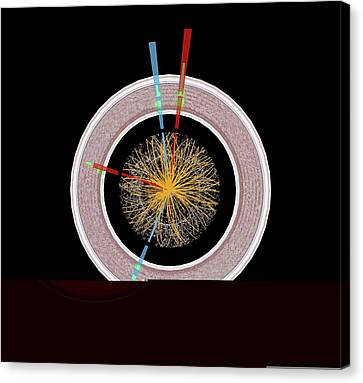Particle Detector Canvas Print - Higgs Boson Research, Atlas Detector by Science Photo Library