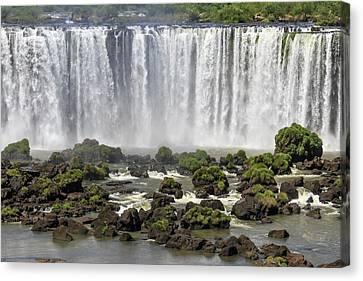 Iguazu Falls Canvas Print by Alfred Pasieka