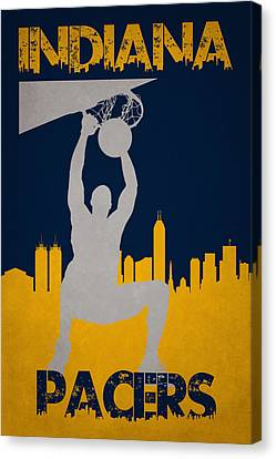 Indiana Pacers Canvas Print
