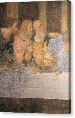 Italy, Lombardy, Milan, Refectory Canvas Print by Everett