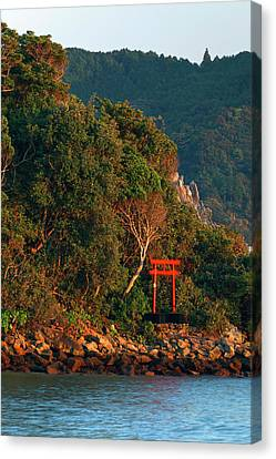 Torii Canvas Print - Japan, Wakagama Prefecture by Jaynes Gallery