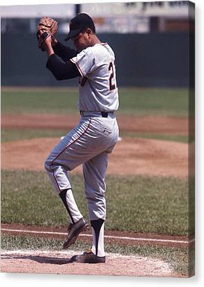 Old Pitcher Canvas Print - Juan Marichal by Retro Images Archive