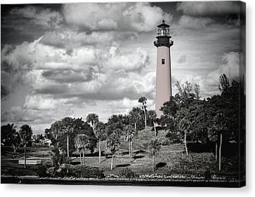 Jupiter Lighthouse  Canvas Print by Rudy Umans