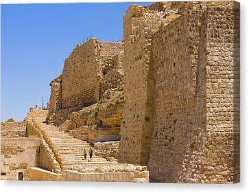 Karak Castle, Jordan Canvas Print by Keren Su