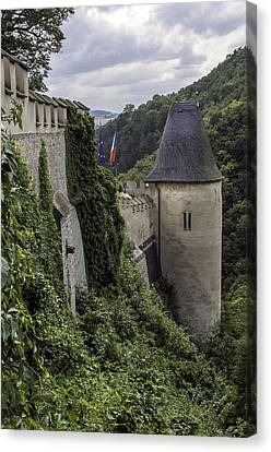 Karlstejn Castle. Canvas Print by Fernando Barozza