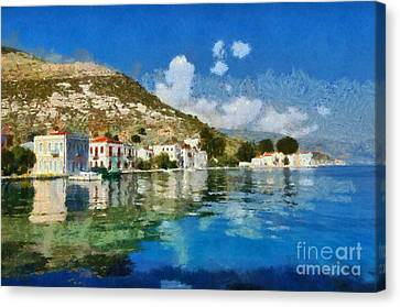 Kastellorizo Island Canvas Print by George Atsametakis