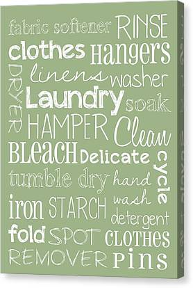 Laundry Room Canvas Print by Jaime Friedman