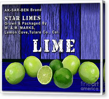 Lime Farm Canvas Print by Marvin Blaine