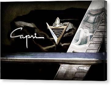 Lincoln Capri Emblem Canvas Print