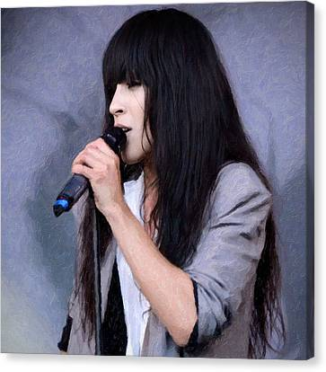 Loreen Canvas Print by Tommytechno Sweden
