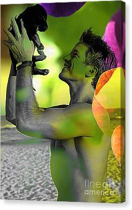 Love Canvas Print by Marvin Blaine