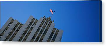 Low Angle View Of An Office Building Canvas Print by Panoramic Images