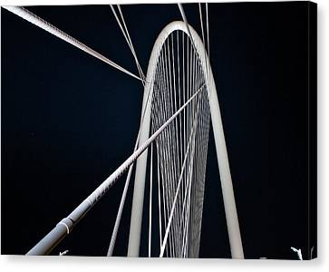 Canvas Print featuring the photograph Margaret Hunt Hill Bridge by John Babis