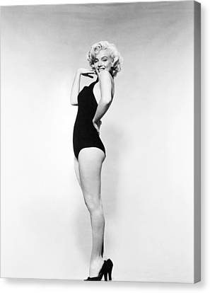 Marilyn Monroe (1926-1962) Canvas Print by Granger