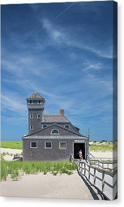 Massachusetts, Cape Cod, Provincetown Canvas Print by Walter Bibikow