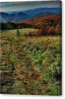 Max Patch Canvas Print by Janice Spivey