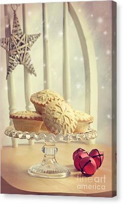 Mince Pies Canvas Print by Amanda Elwell