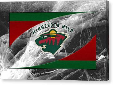 Minnesota Wild Canvas Print by Joe Hamilton