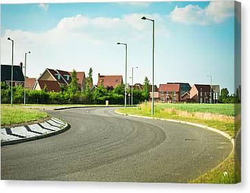 Modern Road Canvas Print by Tom Gowanlock