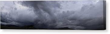 Montana Skies Canvas Print by Yvette Pichette