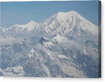 Mt Mckinley Canvas Print by Dick Willis