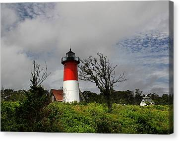 Nauset Lighthouse Canvas Print by Andrea Galiffi