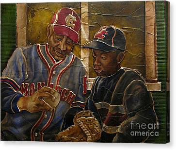 Negro League Story Canvas Print by Anthony High