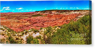Painted Desert National Park Panorama Canvas Print by Bob and Nadine Johnston