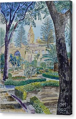 Palazzo Parisio Naxxar Malta Canvas Print