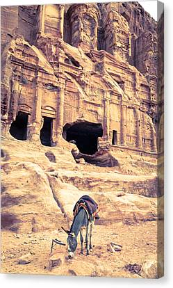 Petra Canvas Print by Alexey Stiop