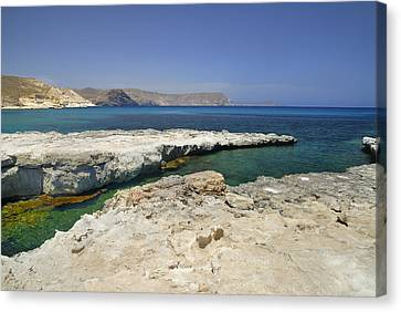 Water Canvas Print - Playazo Beach by Guido Montanes Castillo