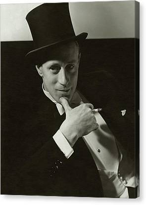 Portrait Of Leslie Howard Canvas Print by Edward Steichen