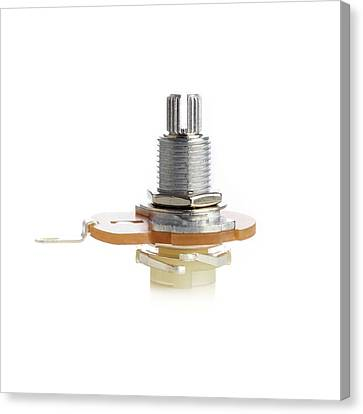Resistor Canvas Print - Potentiometer by Science Photo Library