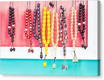 Prayer Beads Canvas Print by Tom Gowanlock