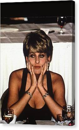 Princess Diana Canvas Print by Retro Images Archive