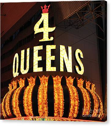 4 Queens Canvas Print