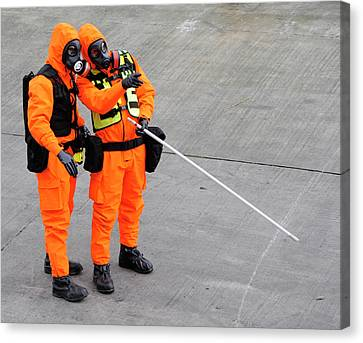 Radiation Emergency Response Training Canvas Print