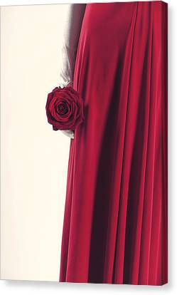 Red Rose Canvas Print by Joana Kruse