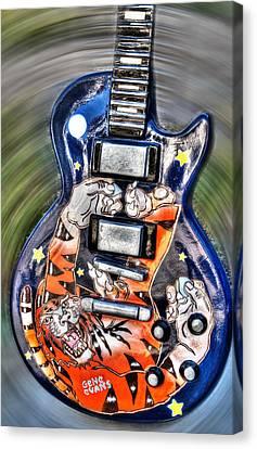 Rock N Roll Collection Canvas Print by Deborah Klubertanz