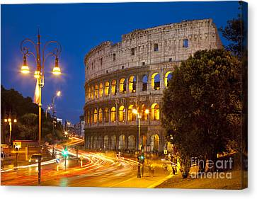 Roman Coliseum Canvas Print