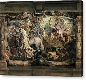 Rubens, Peter Paul 1577-1640. The Canvas Print by Everett