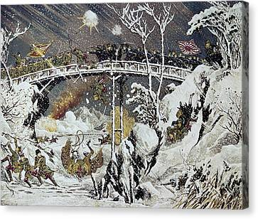 Russo-japanese War, 1905 Canvas Print by Granger